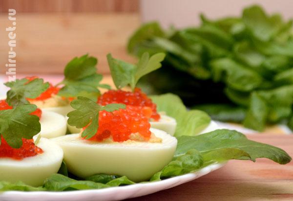 вкусные яйца-фаршированные-икрой