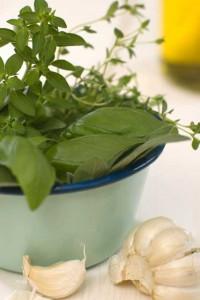 вкусный салат из тыквы с чесноком