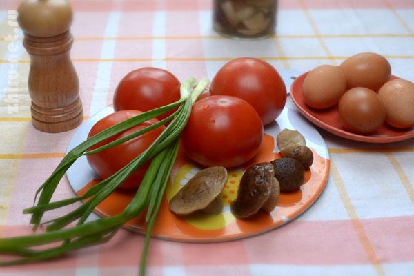 помидоры-с-яйцом-в-духовке