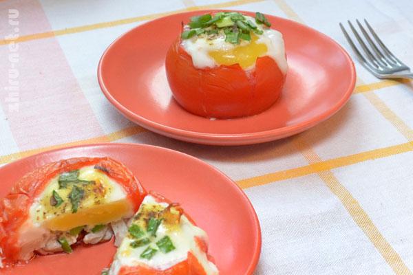 запеченные-помидоры-с грибами