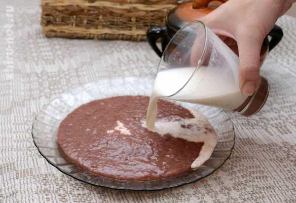вылить-молоко