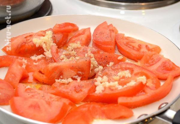 обжарить-помидоры