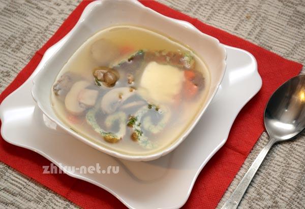 грибной-суп