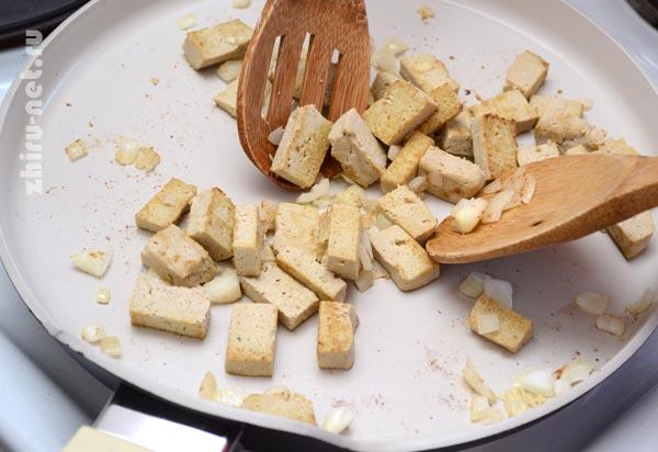 обжарить-тофу