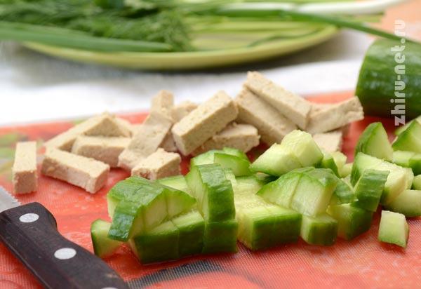огурец-и-тофу