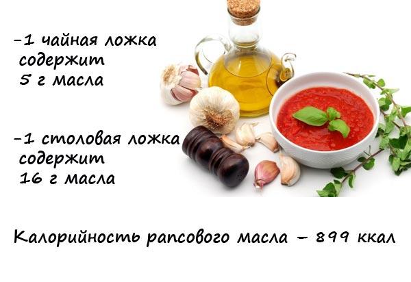 рапсовое-масло-калорийность