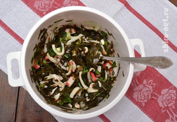 вкусные рецепты салатов при диете