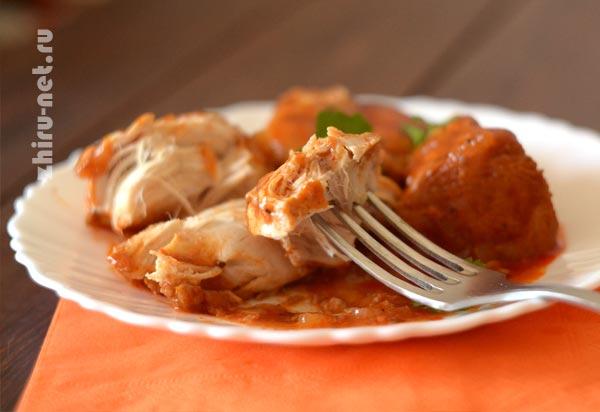 курица-в-томатном-соусе