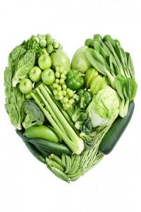 диета зеленые овощи