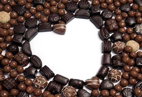 шоколадное-сердце
