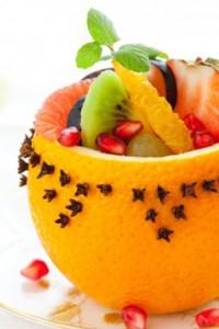 десерт из апельсина