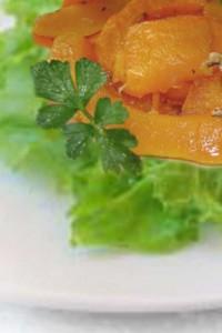 салат из тыквы с зеленью