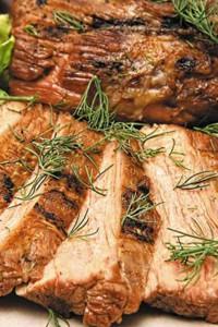 Меню для диеты Дюкана мясо с укропом