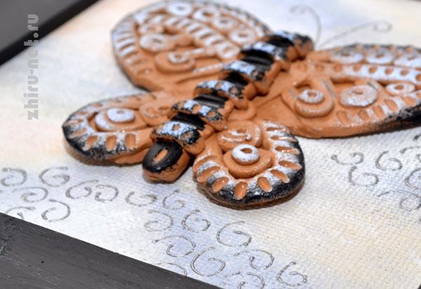 бабочка-керамика