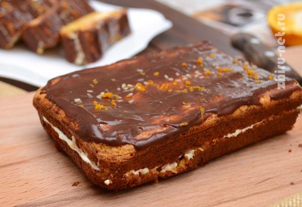 кекс-по-дюкану-с-шоколадной-глазурью