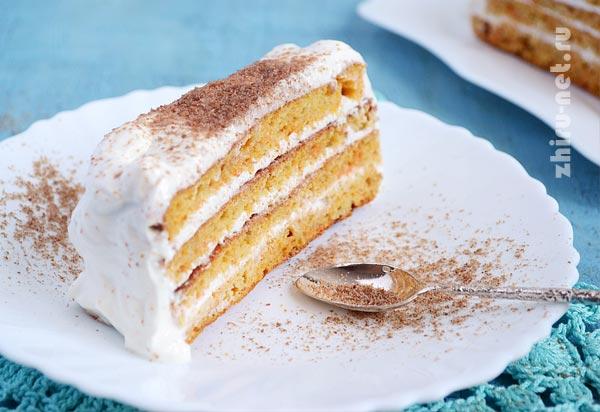 диетический-морковный-торт