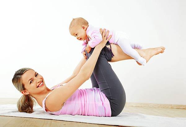 Как-похудеть-после-родов-быстро